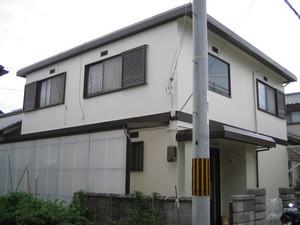加古川市の外壁補修塗装工事が完了しました。