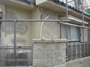 今兵庫県高砂市で外壁補修塗装工事をしています。