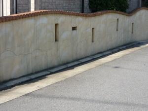 今は加古川市で外壁の補修工事をしています、